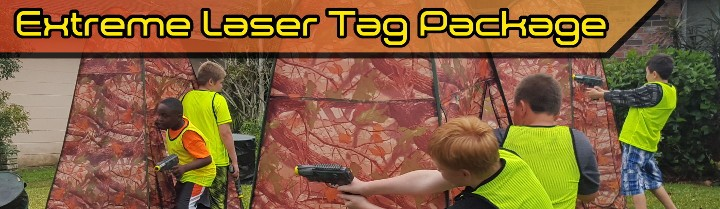 Extreme Laser Tag Package