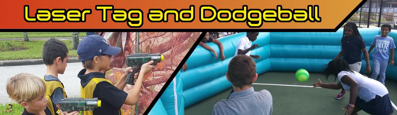 Laser Tag and Gaga Dodgeball